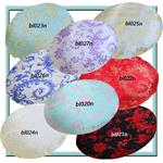 Round Shape Cover*Chinese Rayon Brocade FloorChair Seat Cushion Case Custom*BL12